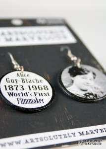 alice guy blache earrings