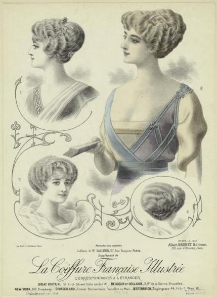 Edwardian coiffure