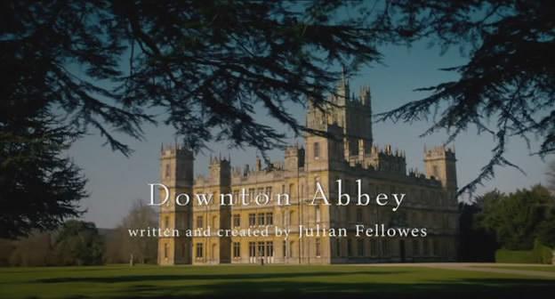 Downton Abbey title screen