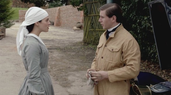 Sybil and Branson  ©Downton Online
