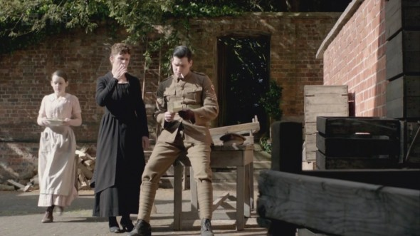 Thomas and O'Brien plotting...as usual ©Downton Online