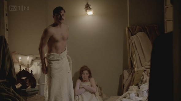 Ethel and Major Bryant ©Downton Online