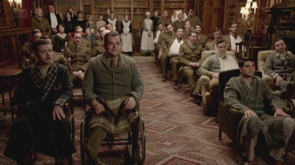 Soldiers' Concert at Downton Abbey © Downton Online