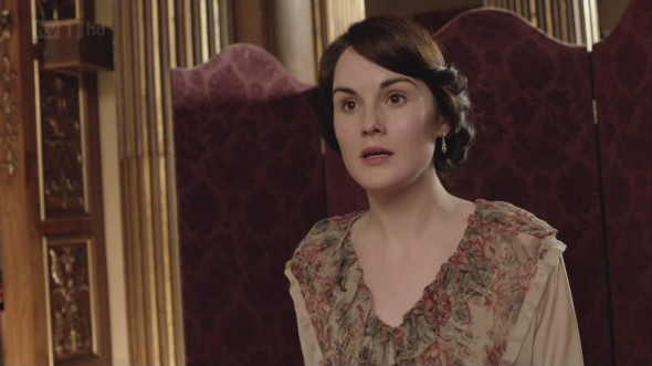 Mary is shocked ©Downton Online