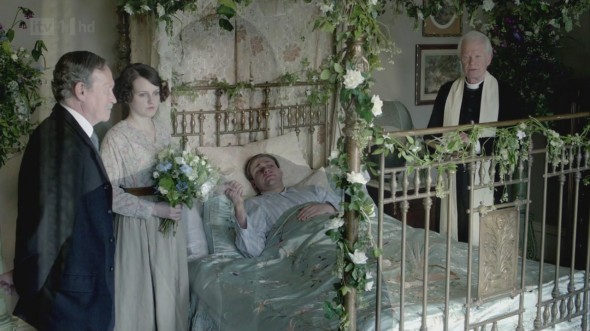 Daisy and William's wedding © Downton Online