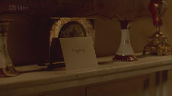 Sybil's elopement letter