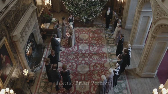 Downton's Christmas tree