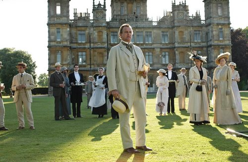 Declaration of war, Downton Abbey