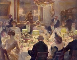 Nothing Preoccupied The Mind Of An Edwardian Hostess So Much As Planning A Dinner Party From Matters Food And Drink Table Service