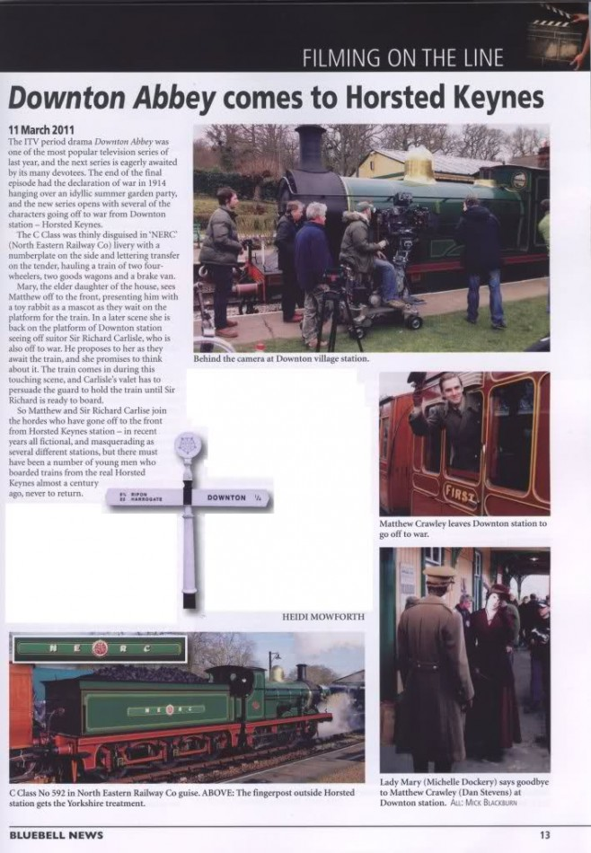 downton article train station