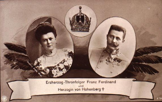 Franz Ferdinand and Sophie