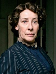 Mrs. Hughes of Downton Abbey