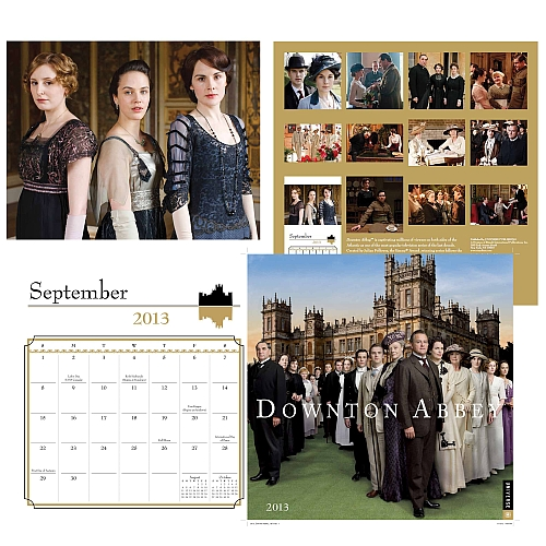Downton Abbey 2013 Calendar
