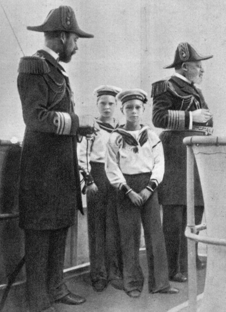 Four British kings