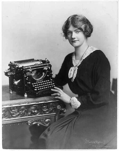 Edwardian typist